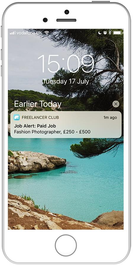 Job Alert Freelancer Club App