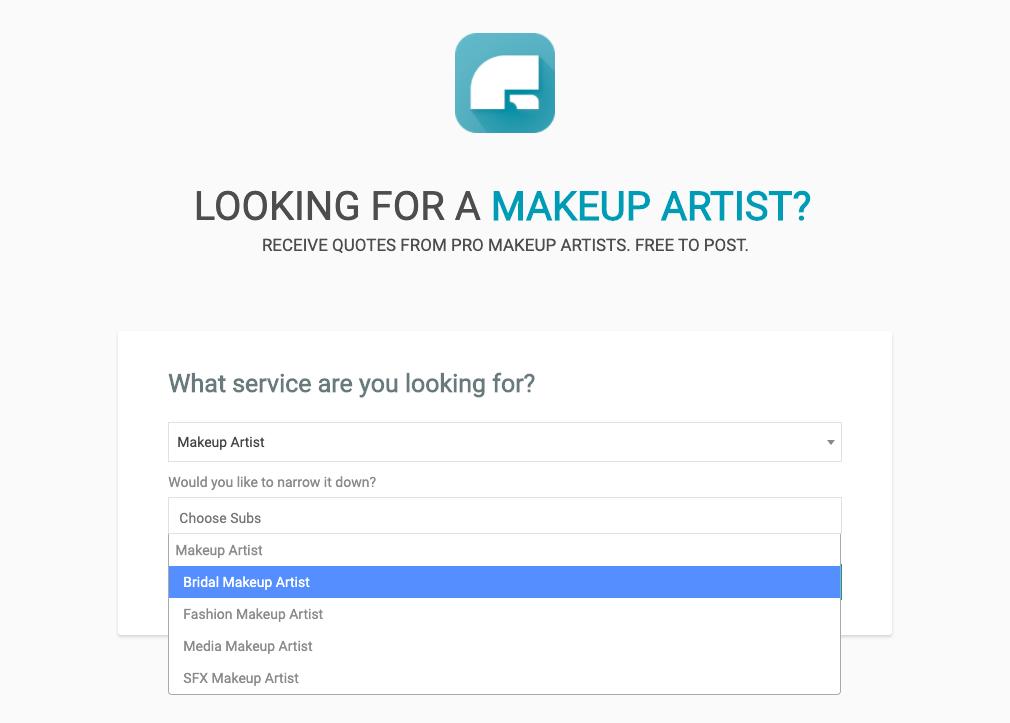 Post a makeup artist job in London UK