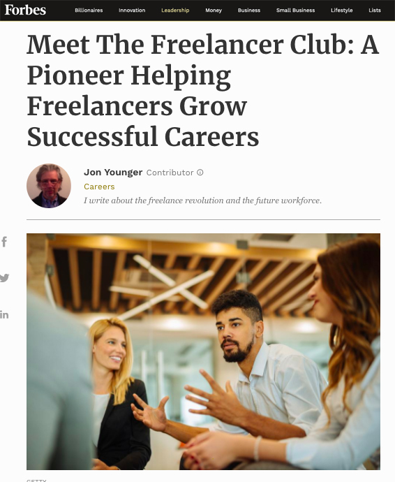 Forbes Freelancer Club