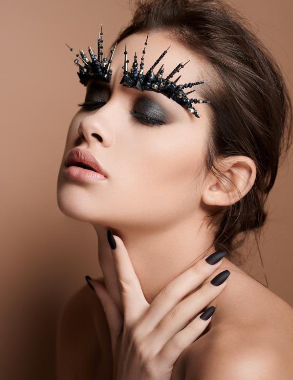 editorial beauty shoot