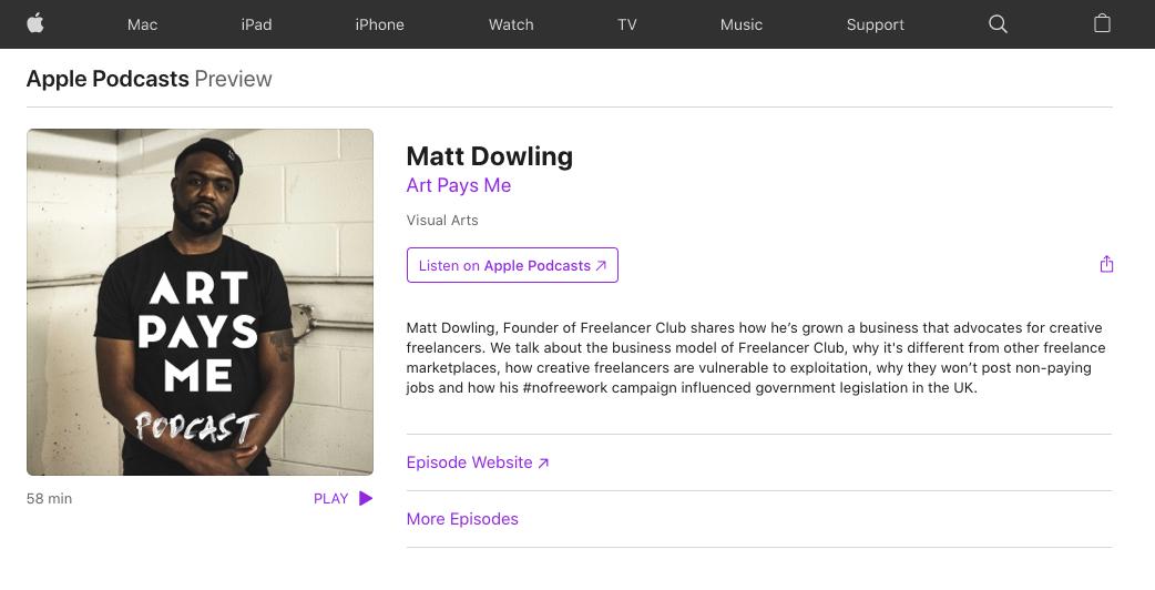 Art Pays Me Matt Dowling Freelancer Club