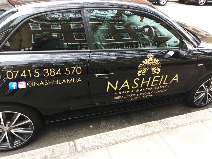 Nasheila MUA car
