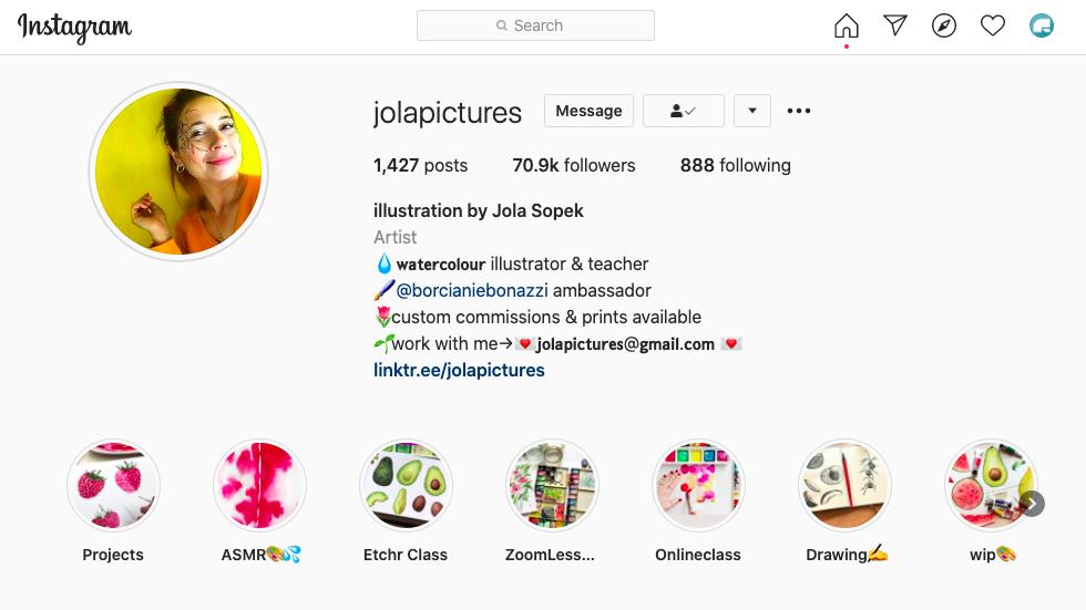 Jola Sopek Illustrator Graphic Designer