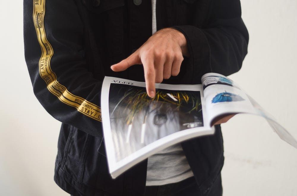 Magazine editorial