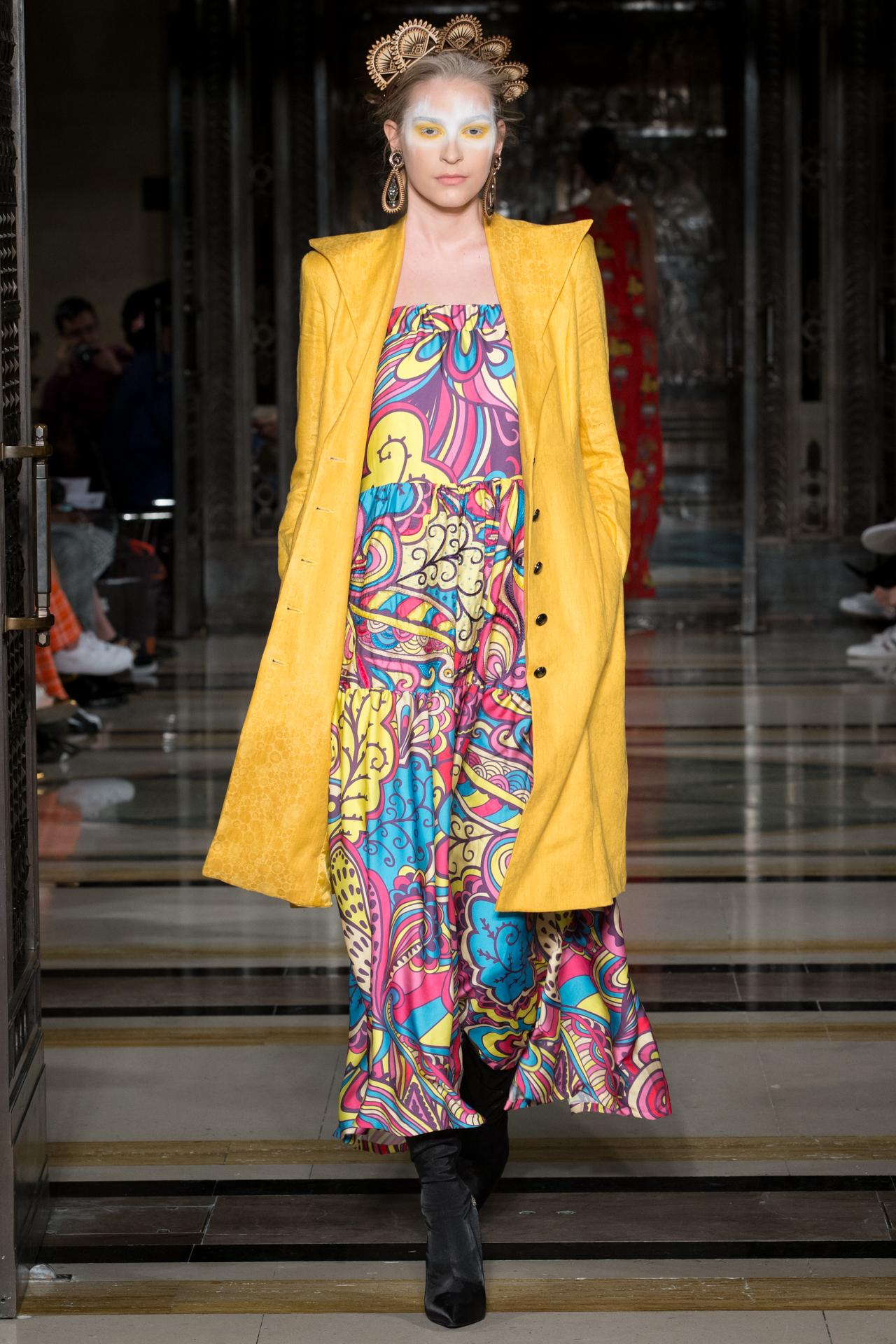 Fashion Designer at London Fashion Week