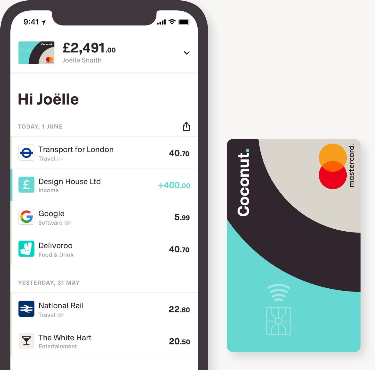 Coconut current account app 2019