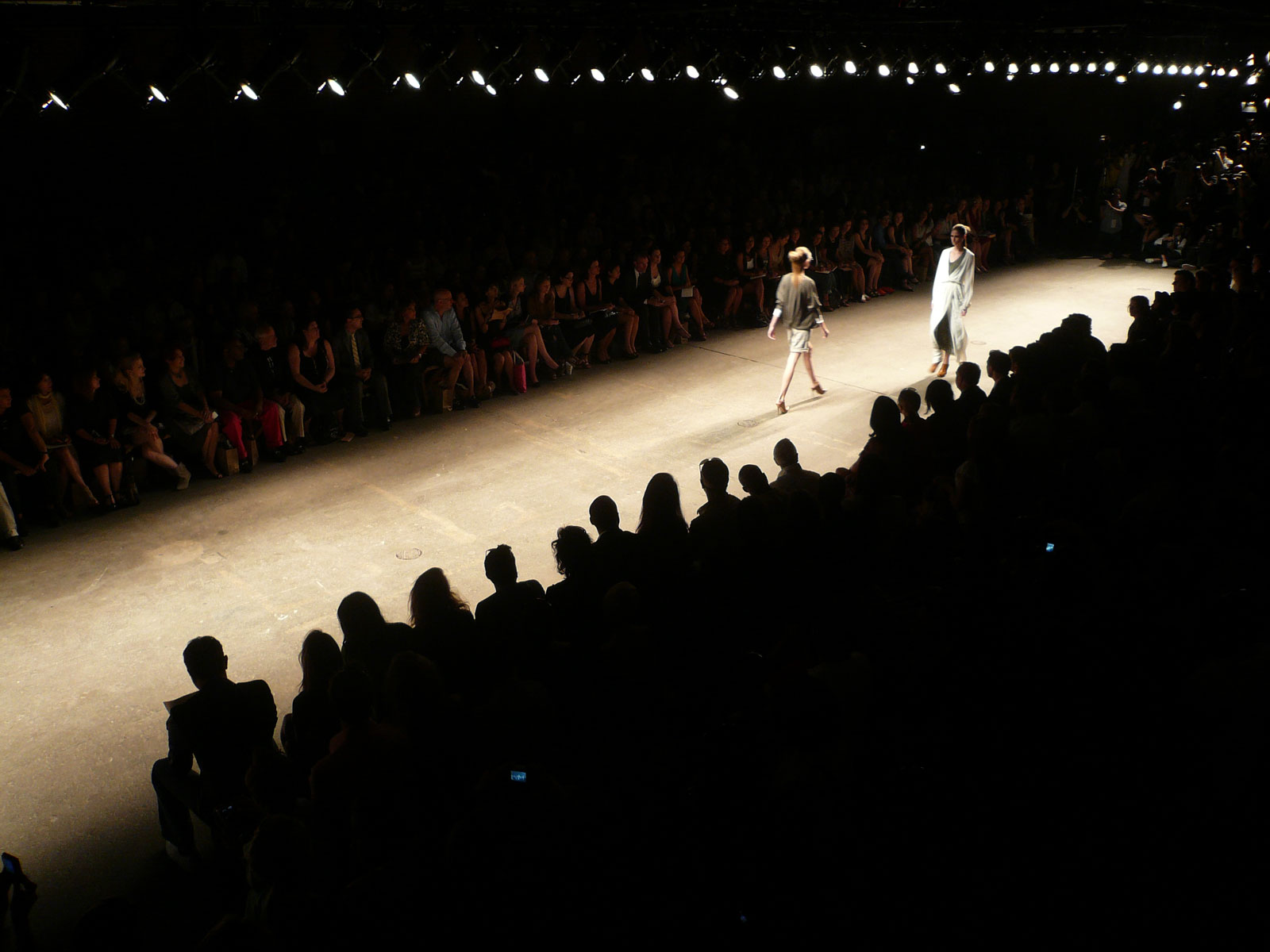 Catwalk at London Fashion Week