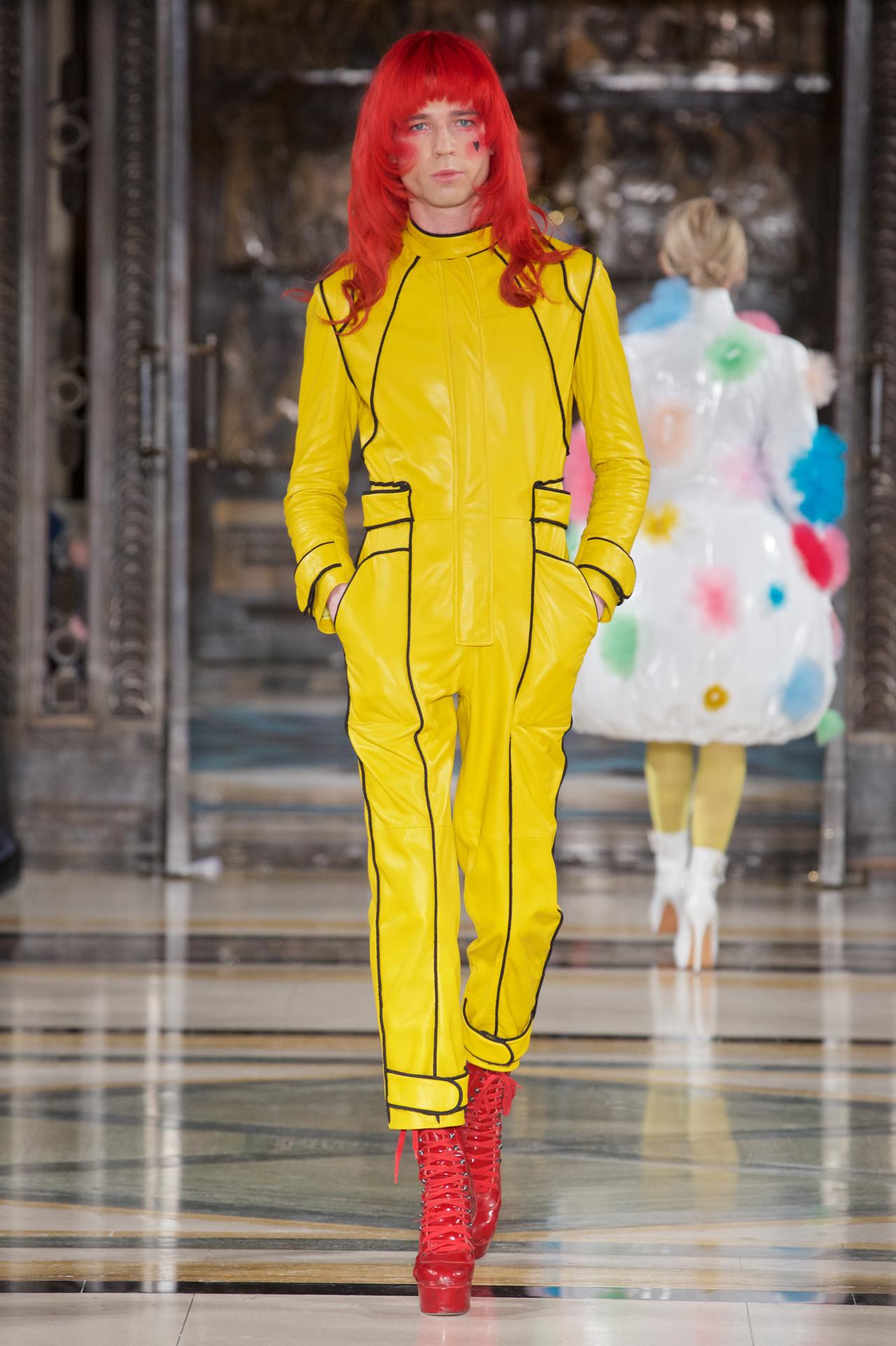 Male Model London Fashion Week Pam Hogg