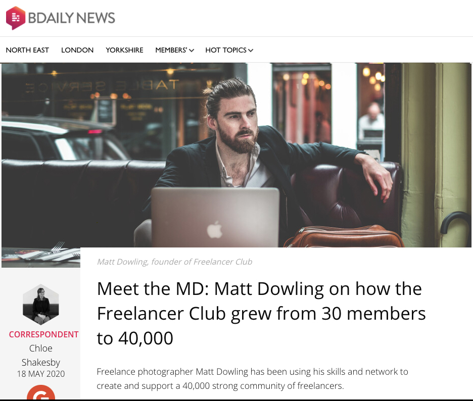 How Freelancer Club grew from 30 to 40,000 Members