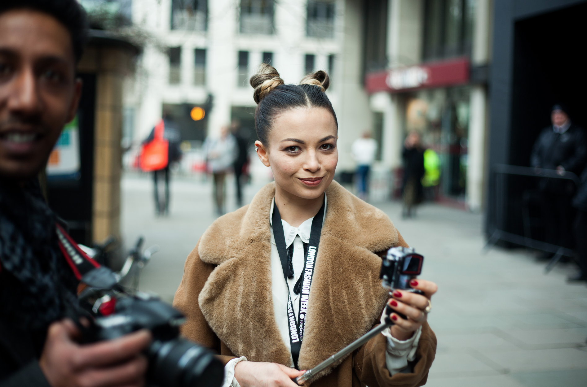 Photographers at London Fashion Week