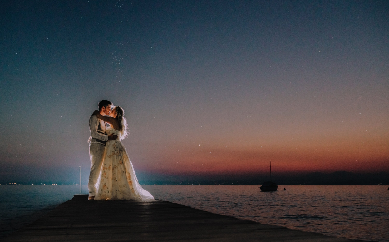 From a recent wedding in Lake Garda.
