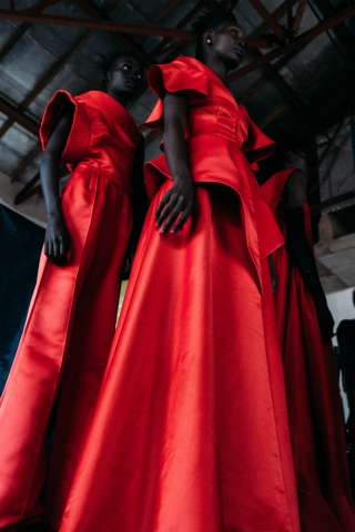 Kampala Fashion Week 2015 - Behind the scenes