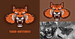 Tiger+butterfly