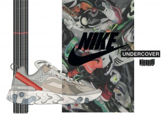Nike React 87 x Undercover Illustration