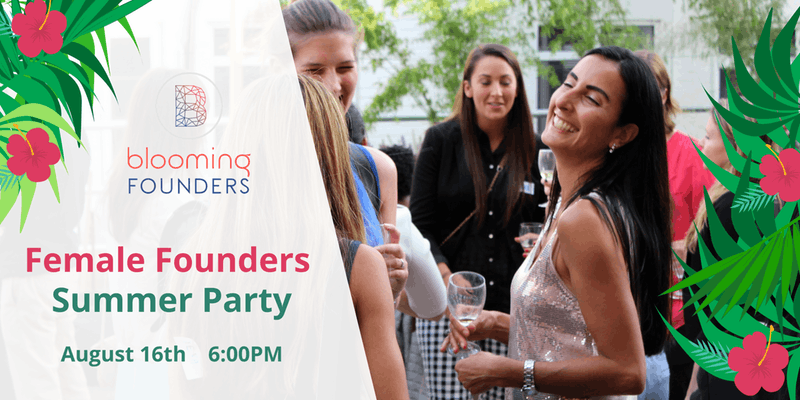 10% OFF : Female Founders Summer Networking Party
