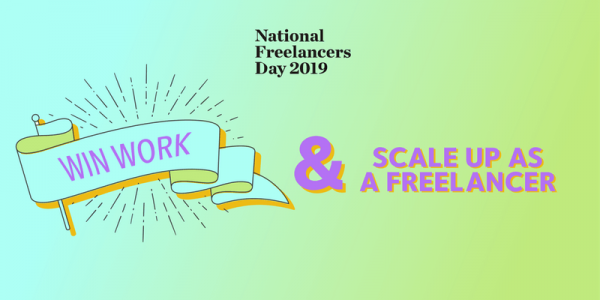 FREE : Win work and scale up as a freelancer, 6 Mar